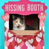 Valentine's Day Hissing Booth Cardboard Cat House