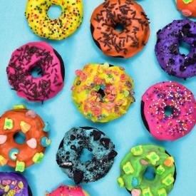 Simple Gluten-Free Donuts from Cake Mix