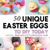 50 Unique Easter Eggs to DIY