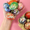 Origami Paper Covered Easter Eggs