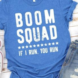 Boom Squad 4th Of July Tee Shirt