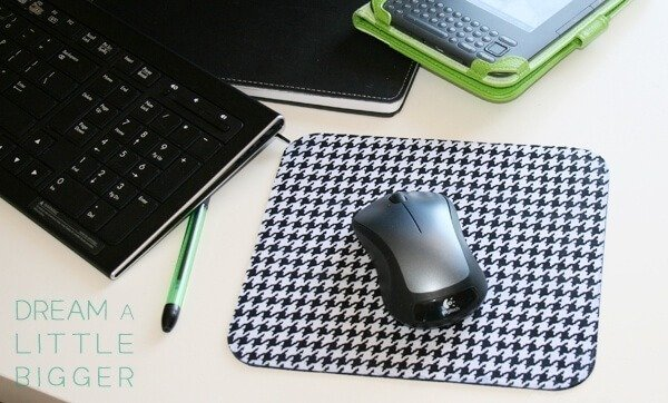 Super Fast Fabulous Mouse Pad Diy