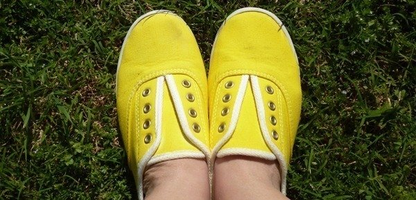 Shoesday Tuesday - Colorful, Laceless, Canvas Tennies