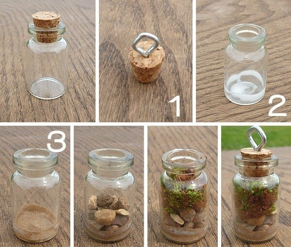 Terrarium Pendants on the Cheap! - easy tutorial