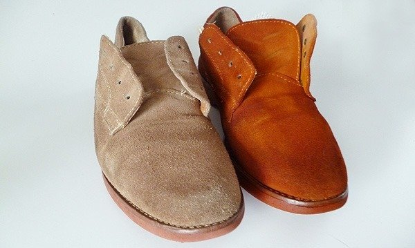 dyeing suede with excellent results a bigger