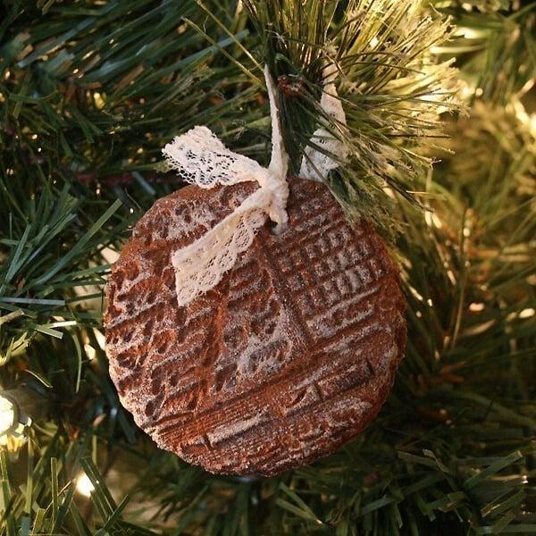 Holiday Recipe - Stamped Cinnamon Ornaments - Non-Edible ...