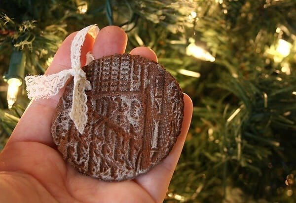 Holiday Recipe - Stamped Cinnamon Ornaments - Non-Edible