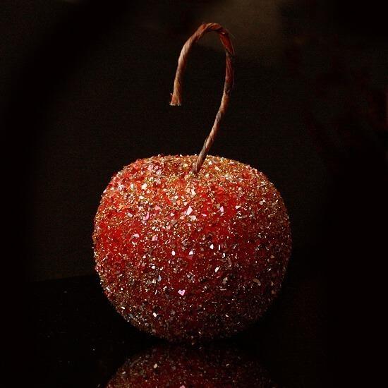 German glass glitter Christmas ornament DIY - Dream a Little Bigger