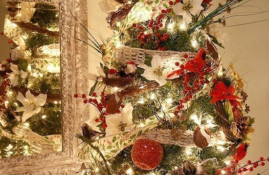 Put a Bird on It! My Finished Tree for 2012