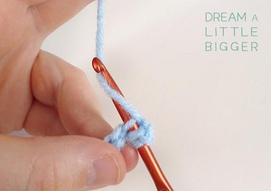 Learn the half double crochet stitch