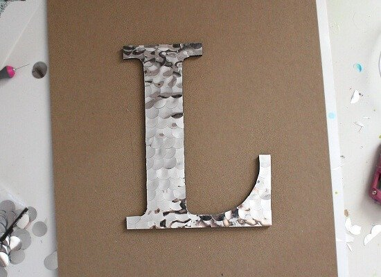 Get the look of hammered metal with this faux tutorial at Dream a Little Bigger