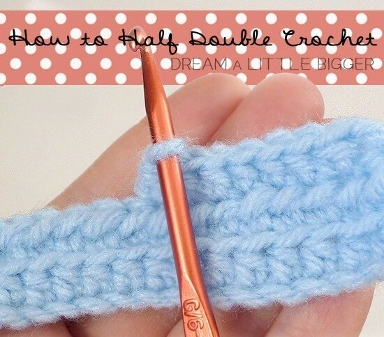 how to start a half double crochet
