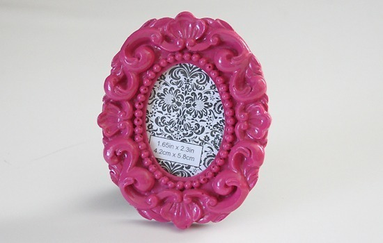 Make a pretty framed pin cushion with tutorial at Dream a Little Bigger