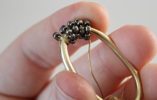 Beaded Chunky Hardware Store Chain Bracelet Tutorial