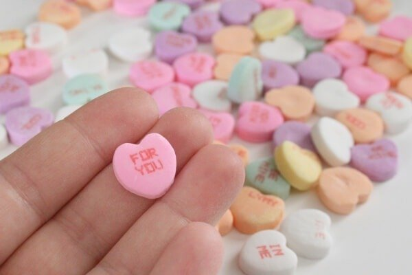 Conversation Hearts Freebies from Dream a Little Bigger