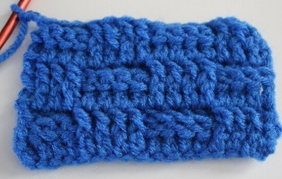 Learn how to crochet the basket weave stitch with tutorial by Dream a Little Bigger