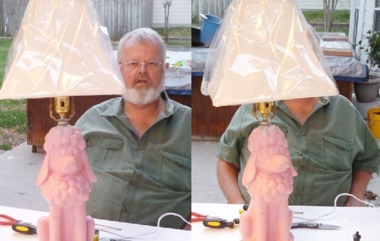 Make a lamp out of a statue with Dream a Little Bigger