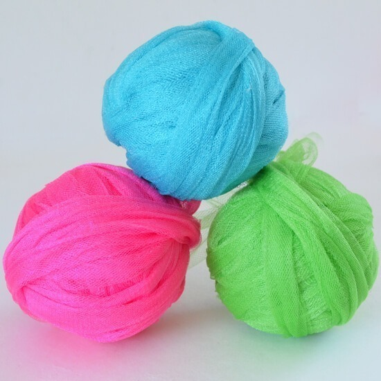 Neon Crochet Pot Scrubbers Tutorial