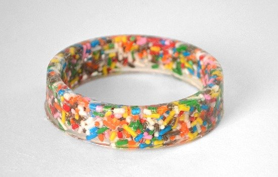How to make sprinkles bangles - Dream a Little Bigger