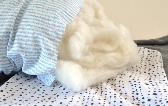 No Sew Cloth Napkin Throw Pillows