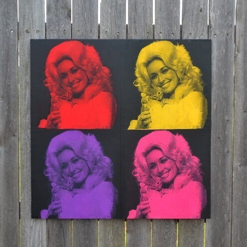 Crazy Cat Dolly Pop Art Tutorial
