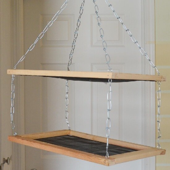 Build dry/cure racks for less than $8 in less than 25 minutes.