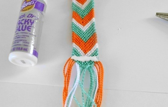 Friendship Bracelet Watch DIY