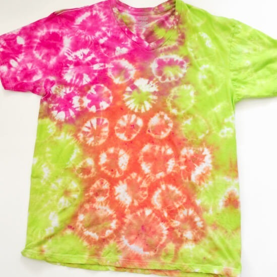 Tie dye patterns great for kids dream a little bigger for Tie dye t shirt patterns
