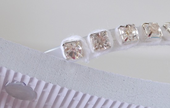 Turn a pair of cheapies into fantastic rhinestone flip flops. Bling!