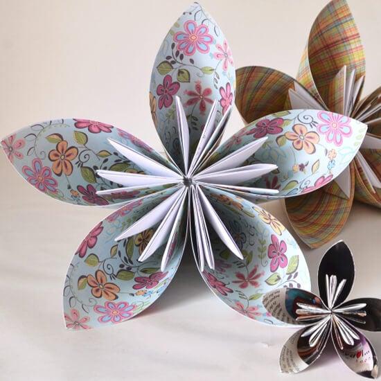 Kusudama Origami Ball Tutorial Dream A Little Bigger