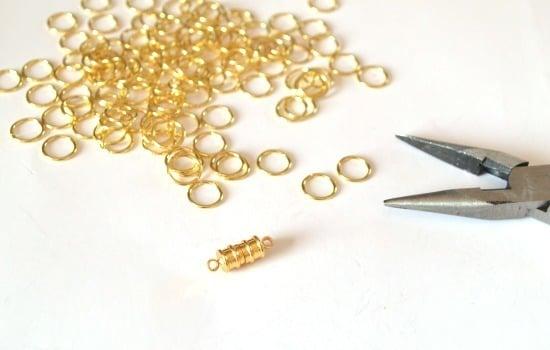 Easy Jump Ring Chain Bracelet Tutorial at Dream a Little Bigger
