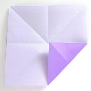 Fold a fortune teller - easy origami