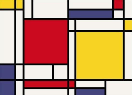 Make a Mondrian rug with a freebie and an awesome tutorial!!