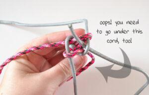 Round Lanyard Stitch Rope Dog Toy Tutorial