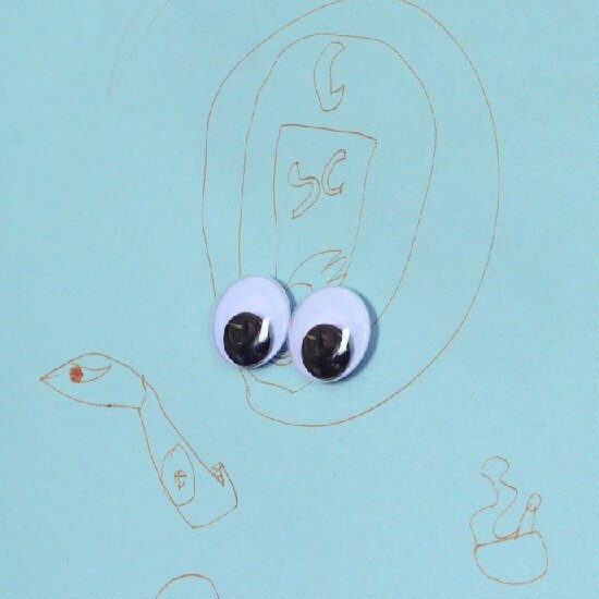 Googly Eye Magnets - Make fun pictures even more fun!