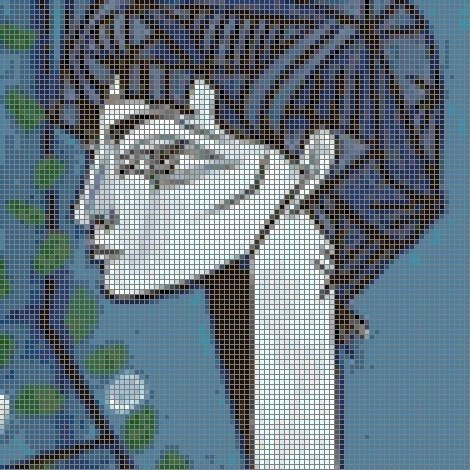 Make a Cross Stitch Chart From Photos for Free