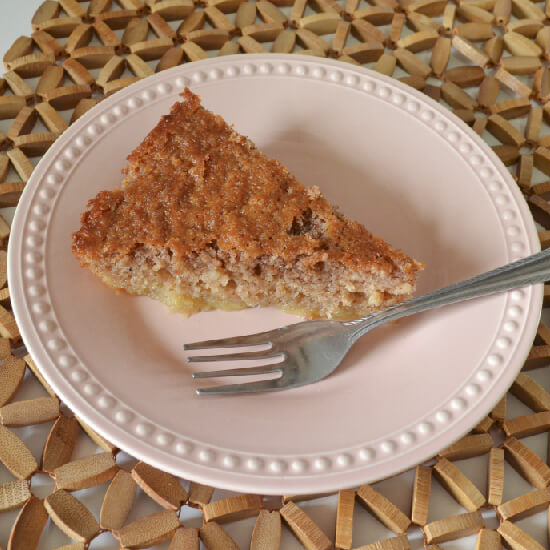 Spiced Magic Buttermilk Cake - Gluten Free Recipe -- www.dreamalittlebigger.com