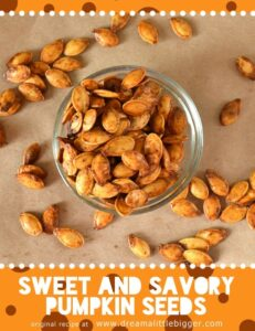 Sweet and Savory Pumpkin Seed Recipe