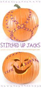 Stitched Jack-o-Lantern Tutorial