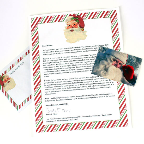 Send letters postmarked from the North Pole. Hurry. the deadline is December 10!