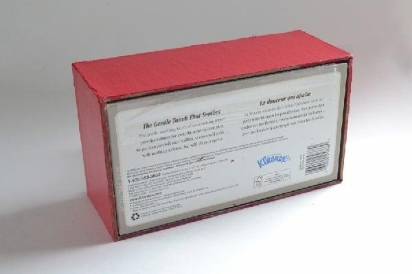 Lego Kleenex Box Cover Tutorial