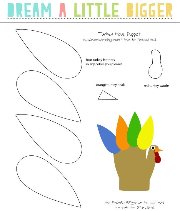 "This is a super cute craft to keep the kids busy on ""turkey day!"""