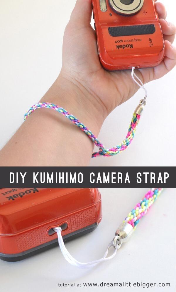 Kumihimo Camera Strap Tutorial