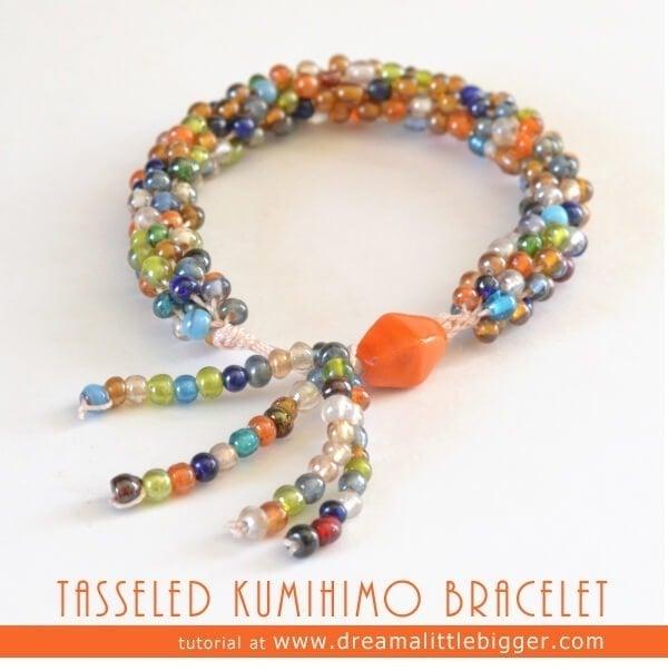 Tasseled Kumihimo Braid Tutorial