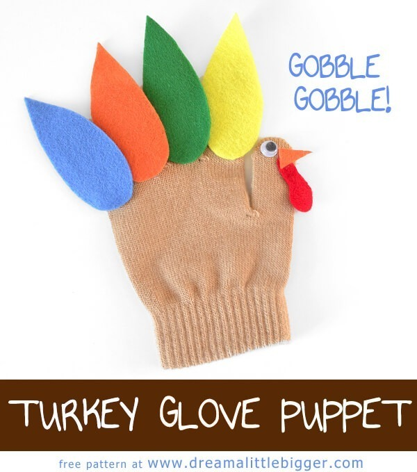 """This is a super cute craft to keep the kids busy on """"turkey day!"""""""