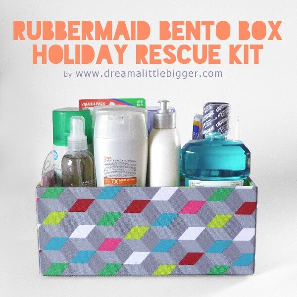 A kit to make holiday gatherings in one house much easier