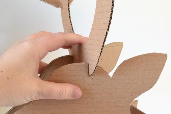 Бумажный пакет из крафт бумаги своими руками