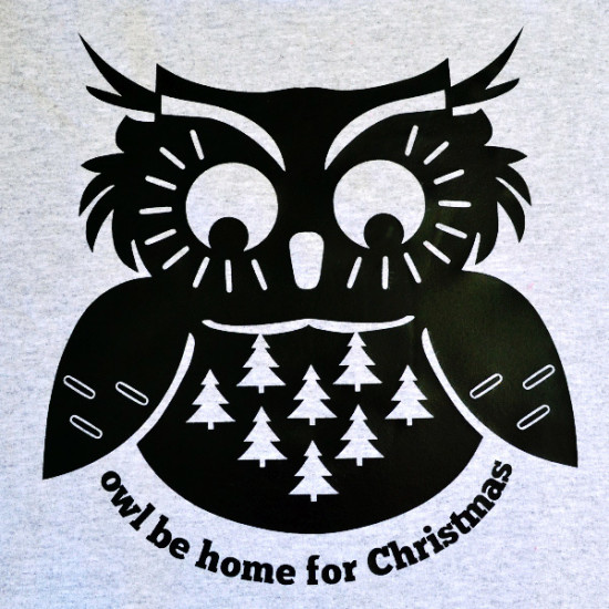 Owl Be Home For Christmas Freebie Dream A Little Bigger
