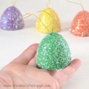 Make these sweet gumdrop ornaments with tutorial.