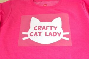 Crazy Cat Lady Shirt Tutorial